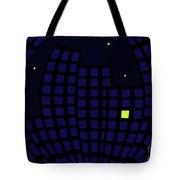 Metropolis At Night Tote Bag