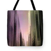 Metropolis Sunset Tote Bag