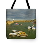 Mevagissey Outer Harbour Tote Bag