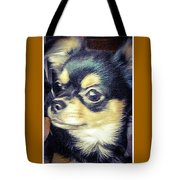 Mexican Chihuahua Puppy Tote Bag