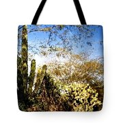 Mexican Country Road Tote Bag