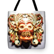 Mexican Day Of The Dead Mask Tote Bag