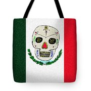Mexican Flag Of The Dead Tote Bag