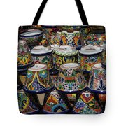Mexican Flowerpots Tote Bag