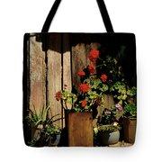 Mexican Geraniums Tote Bag