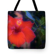Mexican Hibiscus Tote Bag