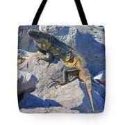 Mexican Iguana Tote Bag