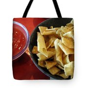 Mexican Inn Chips And Salsa Tote Bag