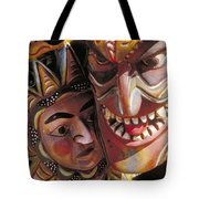 Mexican Masks Tote Bag
