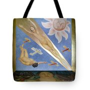 Mexican Mural Painting Tote Bag