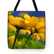 Mexican Sunflower Tree Tote Bag