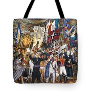 Mexico: 1810 Revolution Tote Bag