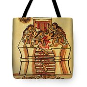 Mexico: Aztec Sacrifice Tote Bag