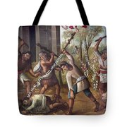 Mexico: Christian Martyrs Tote Bag