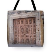 Mexico Door 1 By Tom Ray Tote Bag