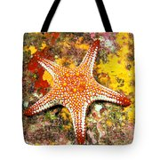 Mexico, Gulf Sea Star Tote Bag