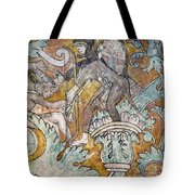Mexico: Ixmiquilpan Fresco Tote Bag