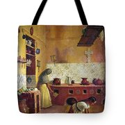 Mexico: Kitchen, C1850 Tote Bag