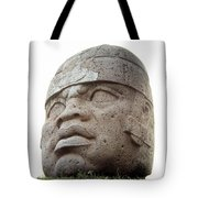Mexico: Olmec Head Tote Bag