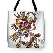 Mexico: Quetzalcoatl Tote Bag