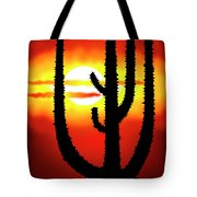 Mexico Sunset Tote Bag by Michal Boubin