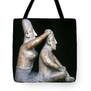 Mexico: Totonac Figures Tote Bag