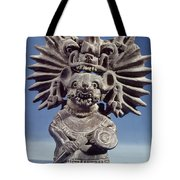 Mexico: Vampire Goddess Tote Bag