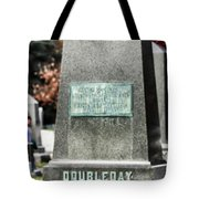 Mg Abner Doubleday Tote Bag
