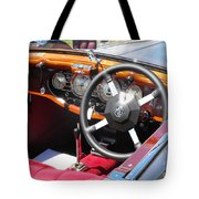 Mg Dashboard Tote Bag