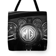 Mg Midget Dashboard Tote Bag