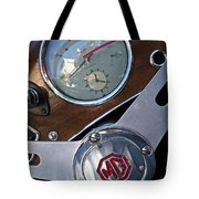 M G Sportster Tote Bag