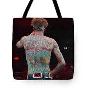 Mgk Back Tote Bag