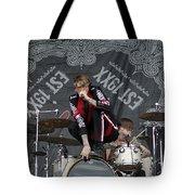 Mgk Drums Tote Bag
