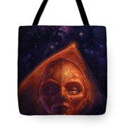mh mstaw ArtOf 28 KosmicThunder Matthew Stawicki Tote Bag