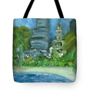 Mi Miami Tote Bag by Jorge Delara