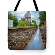 Mi New Haven Rail Road Reflections Tote Bag