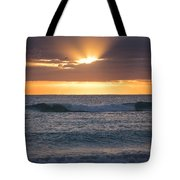 Miami Beach Florida Sunrise Tote Bag