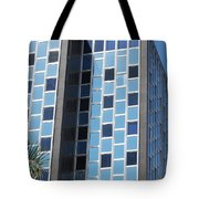 Miami Checker Board Tote Bag