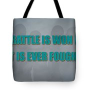 Miami Dolphins Battle Tote Bag