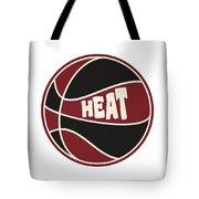 Miami Heat Retro Shirt Tote Bag