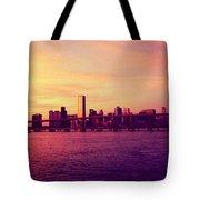 Miami Nights Tote Bag