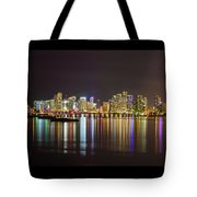Miami Nights Tote Bag
