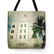 Miami South Beach Ocean Drive 3 Tote Bag