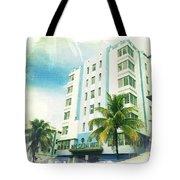 Miami South Beach Ocean Drive 4 Tote Bag