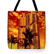 Miami South Pointe IIi Tote Bag