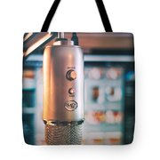 Mic Check 1 2 3 Tote Bag by Scott Norris