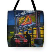 Mic Mac Mall  Spectre Of The Next Great Depression Tote Bag