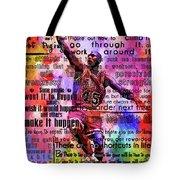 Michael Air Jordan Motivational Inspirational Independent Quotes 3 Tote Bag