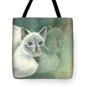 Michael Campbell Reflects Tote Bag