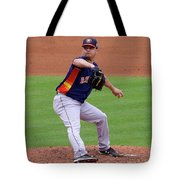 Michael Feliz Houston Astro Pitcher Tote Bag